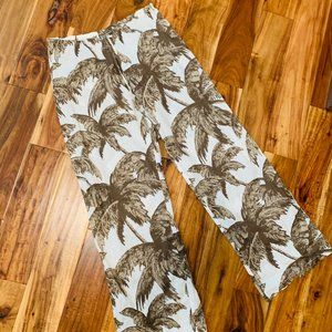 Tommy Bahama Drawstring Palm Tree Pant
